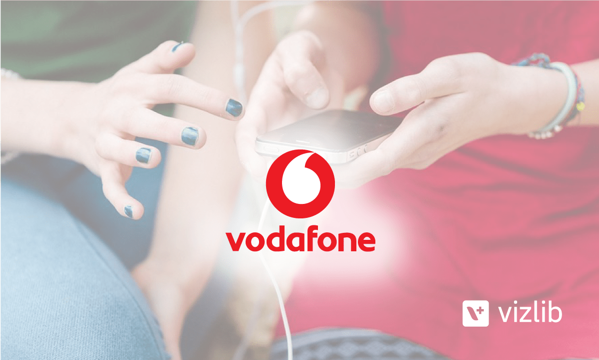 Vodafone leverages Vizlib's out-of-the-box extensions to wow its end users