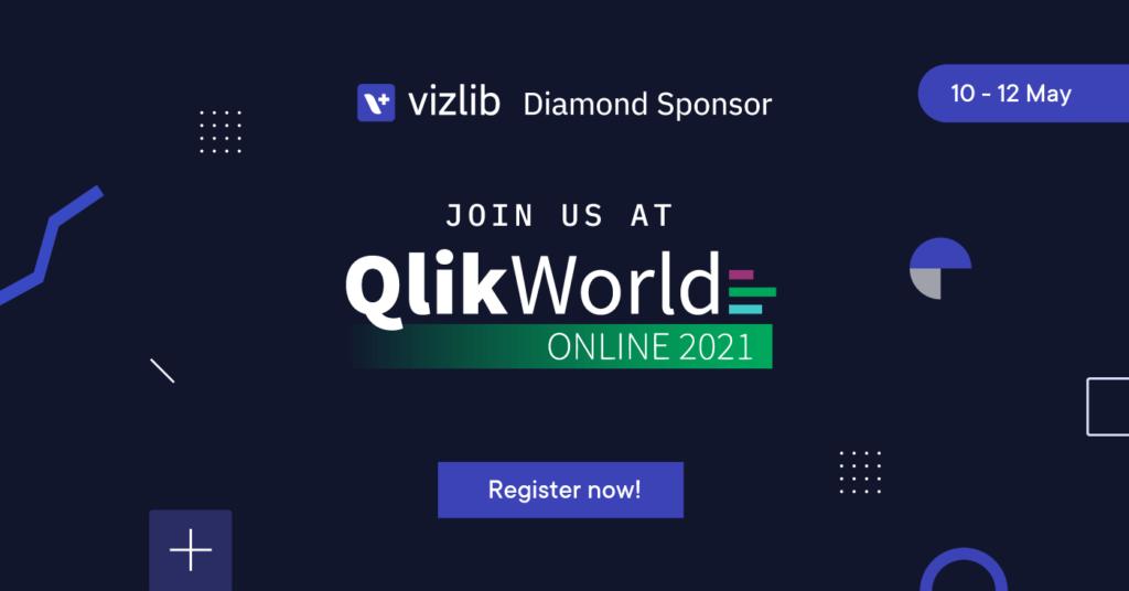 Vizlib - diamond sponsor of QlikWorld 2021