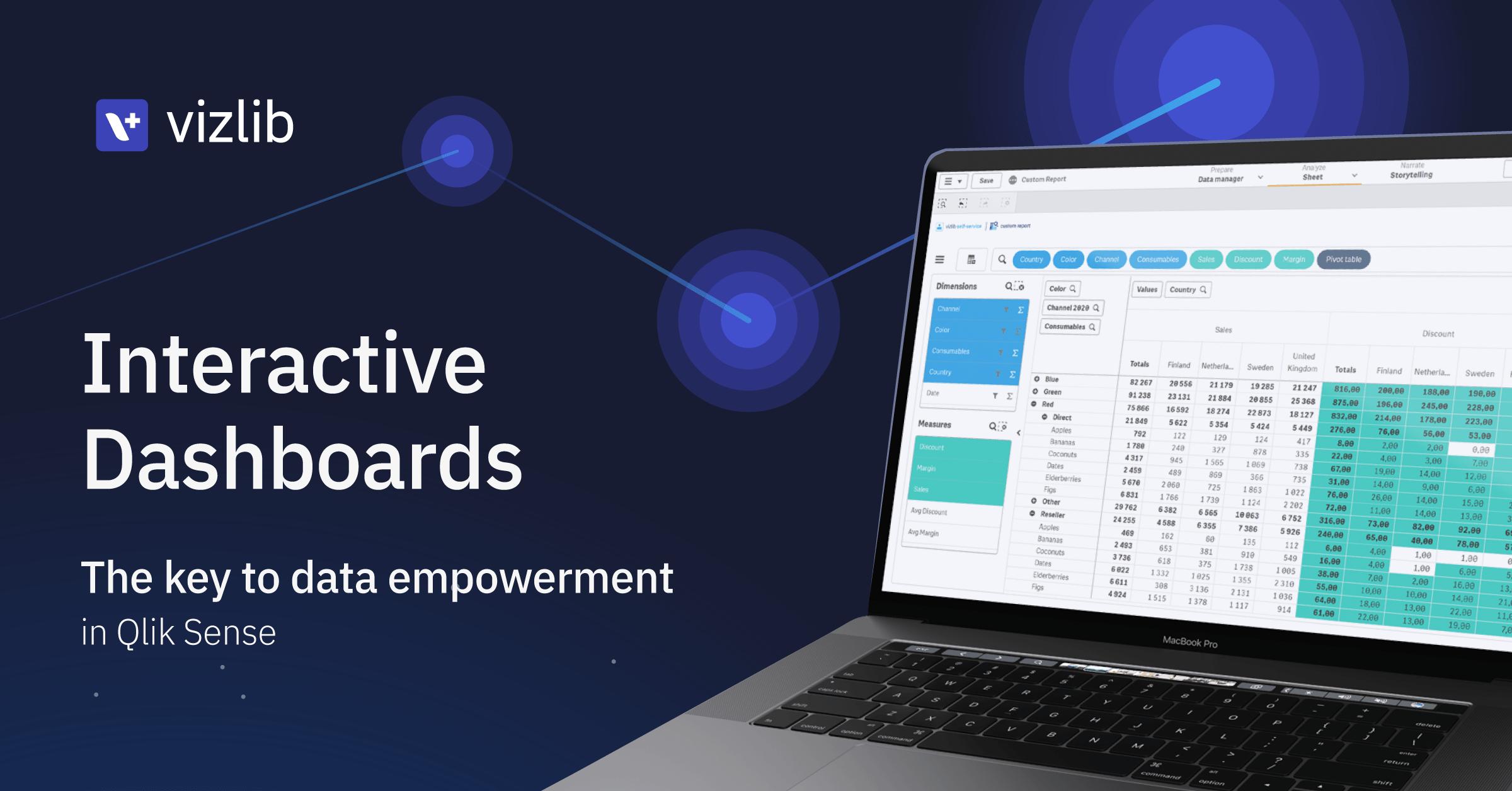 Interactive dashboards: The key to data empowerment in Qlik Sense